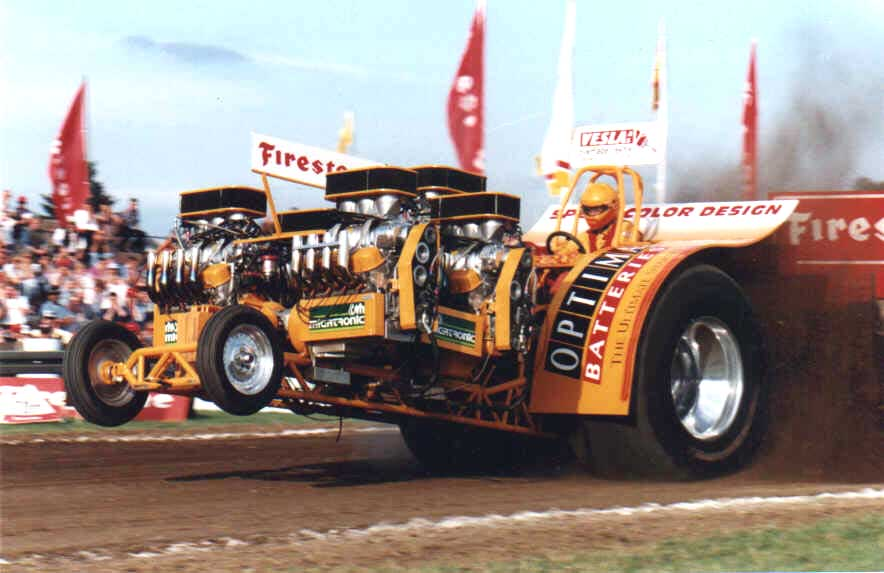 Tractor Pulling News - Pullingworld com: Q & A with Flemming