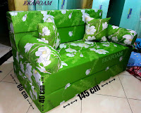 Sofa bed inoac no 3 posisi sofa