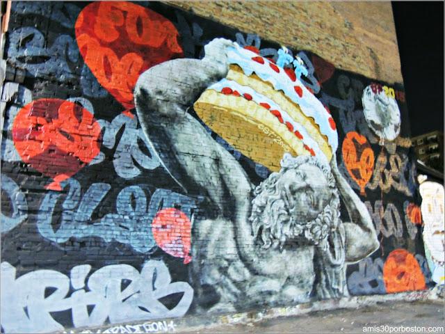 Grafiti en Montreal, Canadá