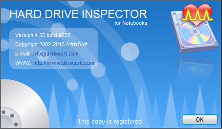 Hard Drive Inspector for Notebooks