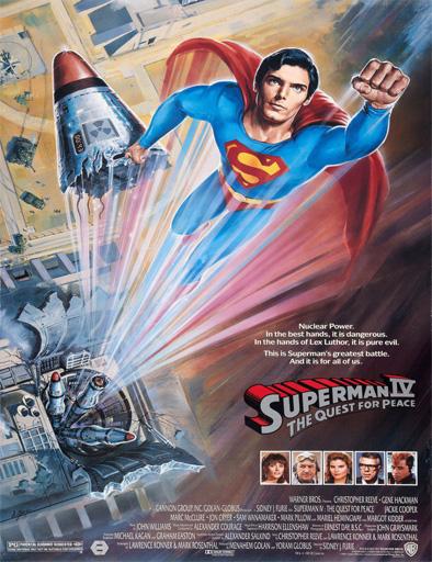 Ver Superman IV: En busca de la paz (1987) Online