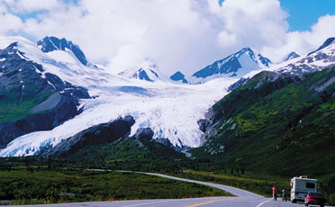 Road To Valdez Through Thompson Pass