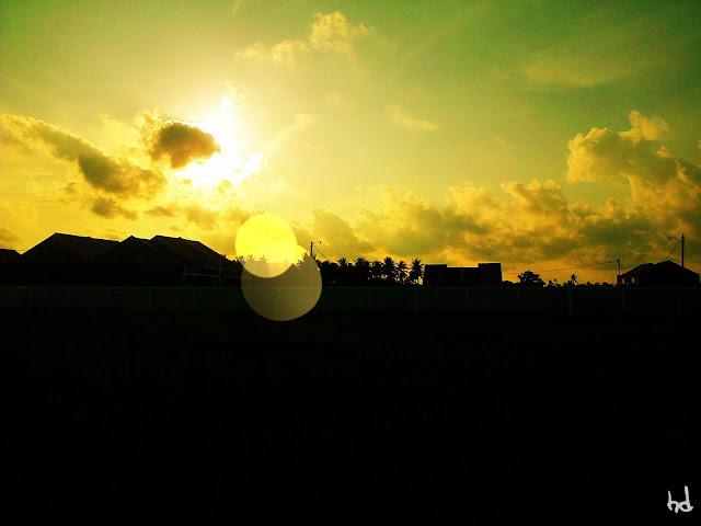 Foto Sunset Pantai Harapan Ammani Selatan Mattiro Tasi