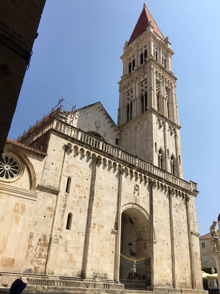 Last Days Of St Raphaels Cathedral >> New Liturgical Movement The Cathedral Of St Lawrence In Trogir Croatia