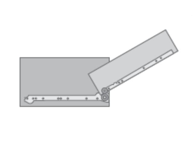 Tutorial melamina y mueble correderas metalicas simples - Guias de cajones ...