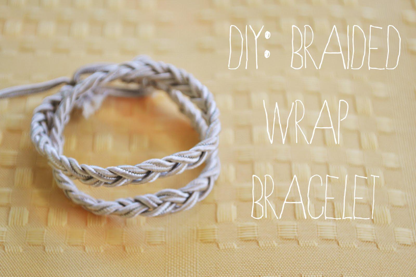 Ps Diy Braided Wrap Bracelet