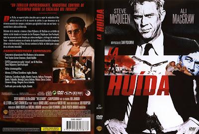 Carátula dvd: La huida (1972) (La fuga) (The Getaway)