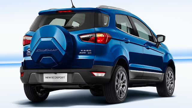 Ford EcoSport facelift hd wallpaper