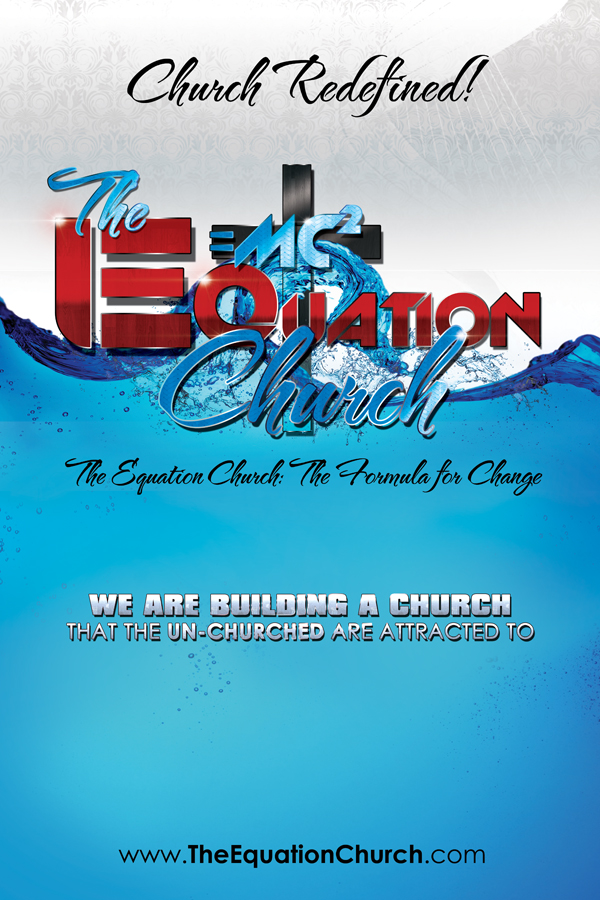 Equation Church Logo Design and Flyer design