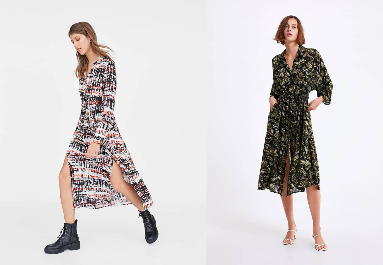 Gdzie można kupić najmodniejsze sukienki maxi? Tureckie wzory, grochy, kwiaty, informacje o sieciówkach, czy sklepy inditex znikną z Polski?