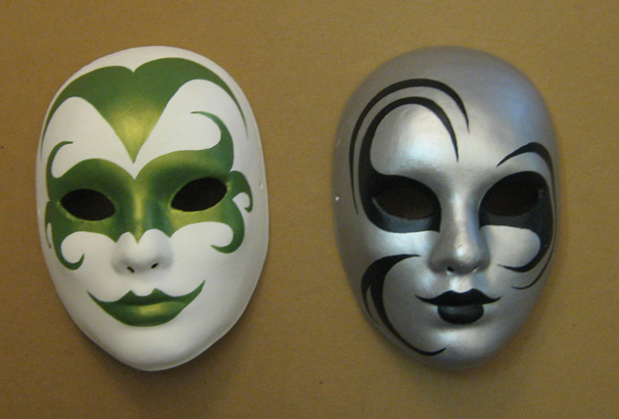 How to make paper mache masks | Easy Craft Idea