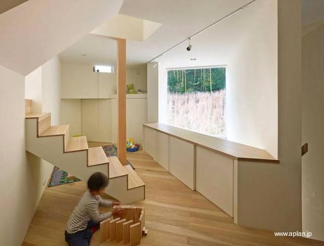 Un nivel elevado de la moderna casa japonesa