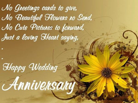 Happy Wedding Anniversary Wishes & Quotes for Sister from Younger Brother/Sister