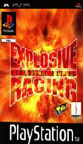 all-best-psp-games-download: Explosive Racing (psx eboot)