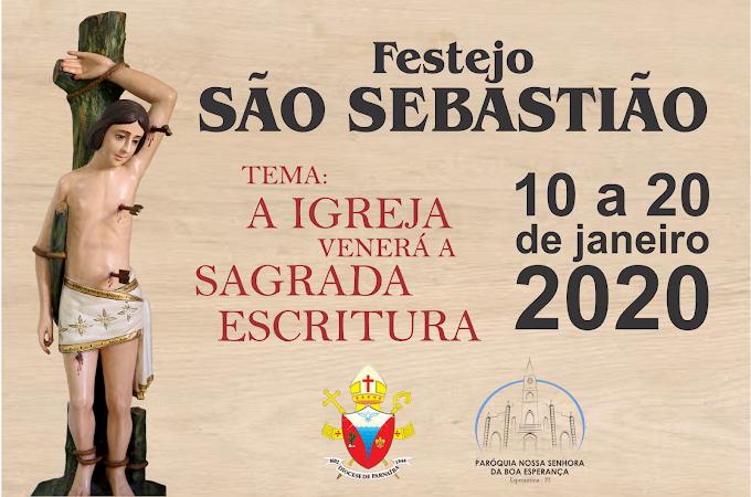 Programação da Festa de São Sebastião 2020