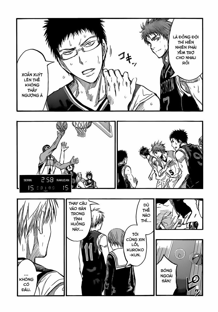 Kuroko No Basket chap 237 trang 12
