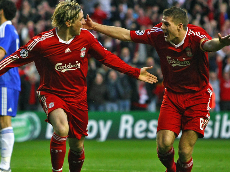 Top Football Players: Steven Gerrard And Torres