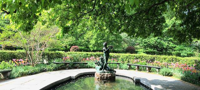 The Conservatory Gardens- English Garden by Central Park Pedicab Tours