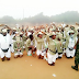 SEE HOW THESE CORPERS WERE PUNISHED FOR ANNOYING THEIR PLATOON INSPECTOR IN ABIA STATE ORIENTATION CAMP