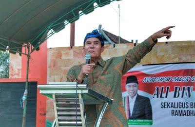Jadi Gubernur, Ali BD Pastikan Percepat Propinsi Pulau Sumbawa