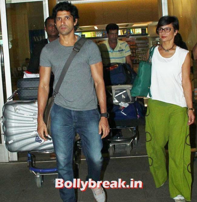 Farhan Akhtar, Elli, Deepika, Kangana Arrive Back From IIFA