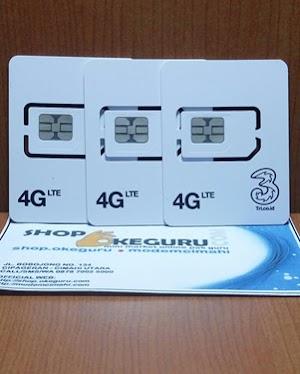 Kartu Upgrade 3 Tri ke U-SIM 4G LTE