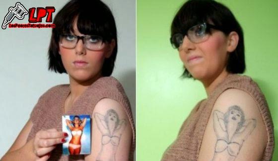 Tatuaje mujer FAIL