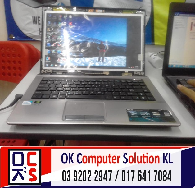 [SOLVED] SKRIN ASUS A43S PECAH | REPAIR LAPTOP CHERAS 4