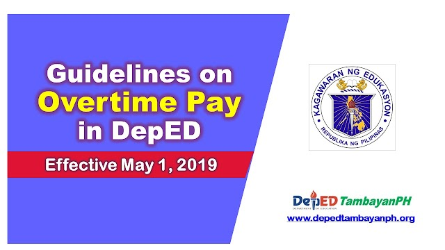 DepEd releases amended policies on overtime pay, effective May 1