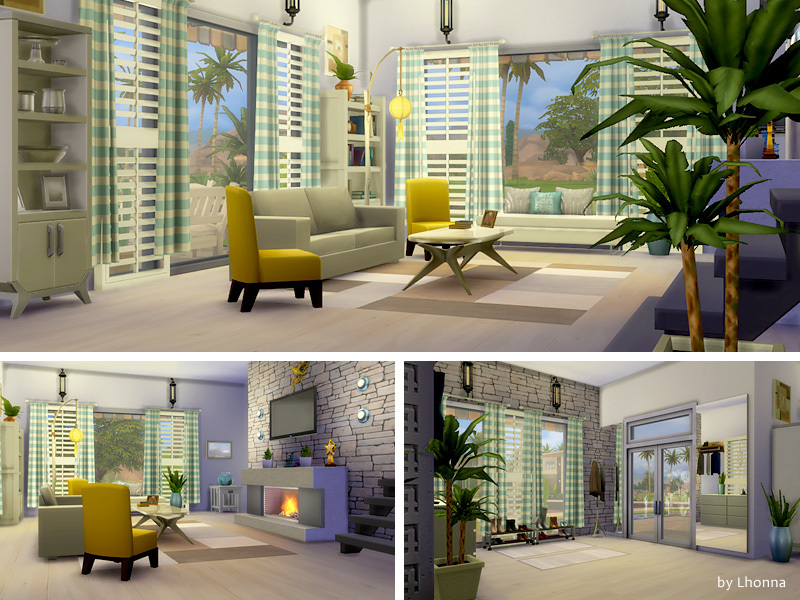 Summer Dream House | Sims 4 Houses