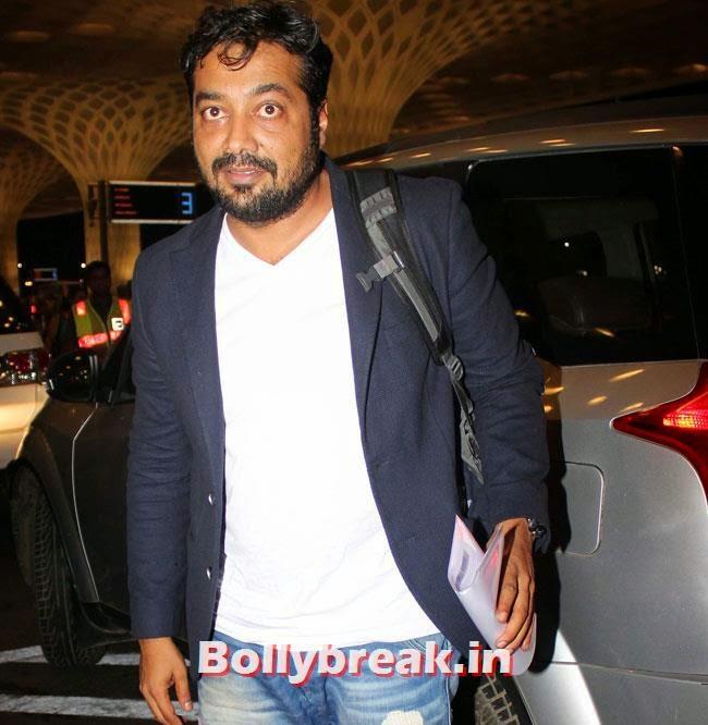 Anurag Kashyap, Parineeti Chopra, Sonam Kapoor & Other Celebs Set Out For IIFA 2014