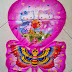 Balon Foil Character Hello Kitty Kupu Kupu