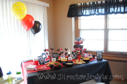Director Jewels Mickey Mouse Clubhouse Birthday Party Toddler - mickey mouse boy birthday party ideas