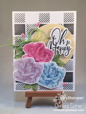 10 inks used to create this FSJ card