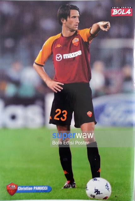 Poster Christian Panucci (AS Roma)