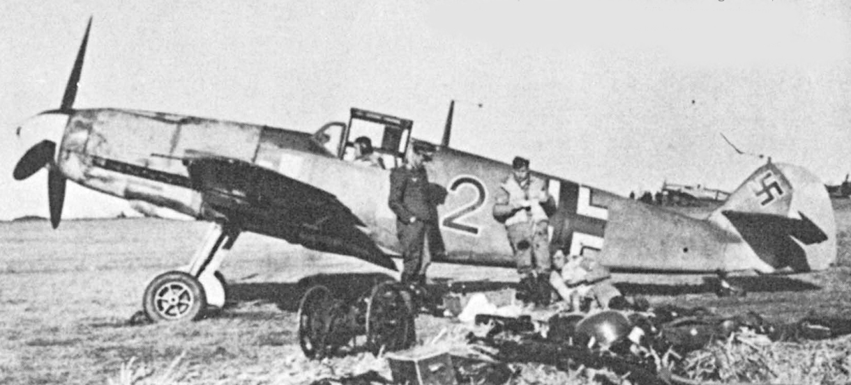 Bf109-G2 sur le tarmac