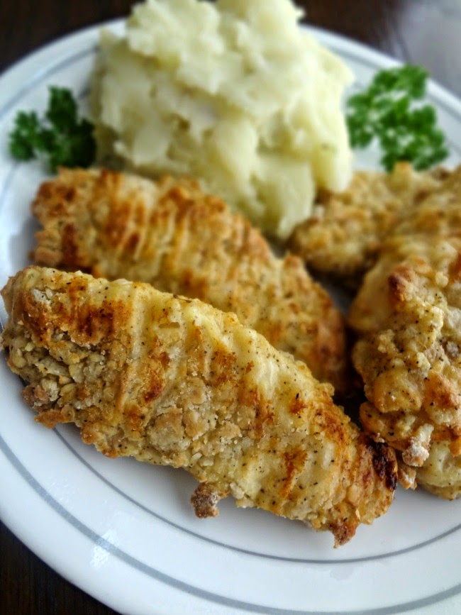 Faux Fried Chicken Tenders