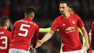 Manchester United vs Brighton: Mourinho Mainkan Ibrahimovic dan Rojo sebagai Starter