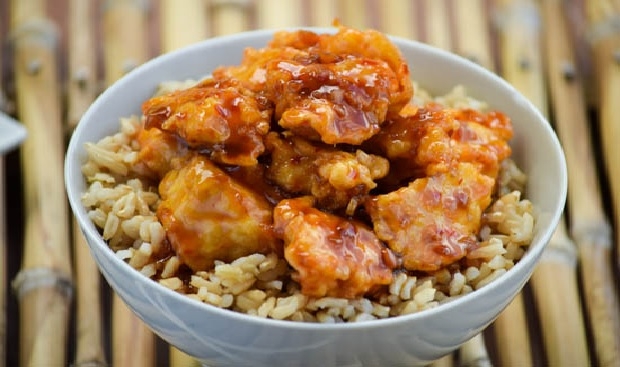 Sweet And Spicy Honey Bourbon Chicken Recipe
