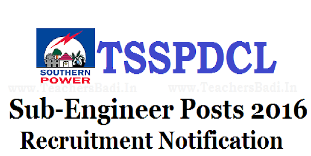 TSSPDCL Recruitment 2016 Apply Online 153 Sub Engineer(Electrical) Telangana Latest Jobs/2016/06/tsspdcl-recruitment-2016-apply-online-153-sub-engineer-electrical-telangana-latest-jobs.html