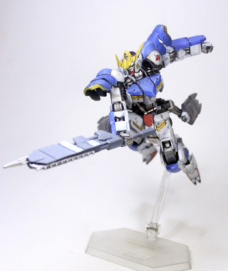 Custom Build: HG 1/144 Gundam Barbatos Form 6 Repair - Gundam Kits ...
