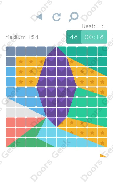 Cheats, Walkthrough for Blocks and Shapes Medium Level 154