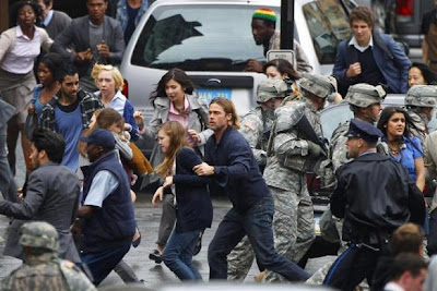 World War Z: foto in anteprima dal set a Glasgow