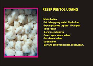 Resep PEntol Udang Ommasakom blog