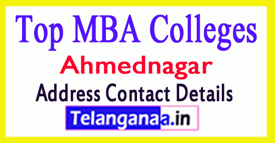 Top MBA Colleges in Ahmednagar