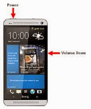 How to Hard Reset any HTC Mobile without Password image photo