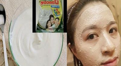 Cara Membuat Masker Susu Dancow dan Putih Telur Untuk Wajah