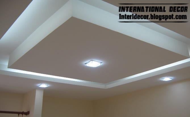 Spanish Plaster Ceiling Decoration : Classic gypsum plaster roof in spanish designs calm