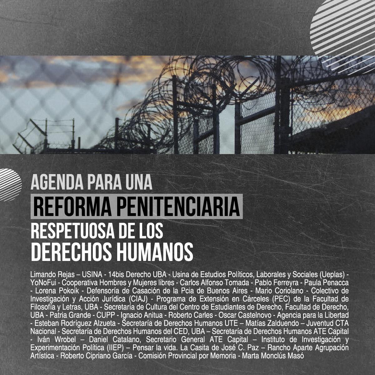 Agenda para una reforma penitenciaria respetuosa de los DDHH