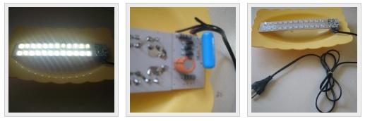 Mains Operated Led Lamp Zona Elektronika